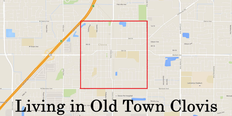 Living in Old Town Clovis
