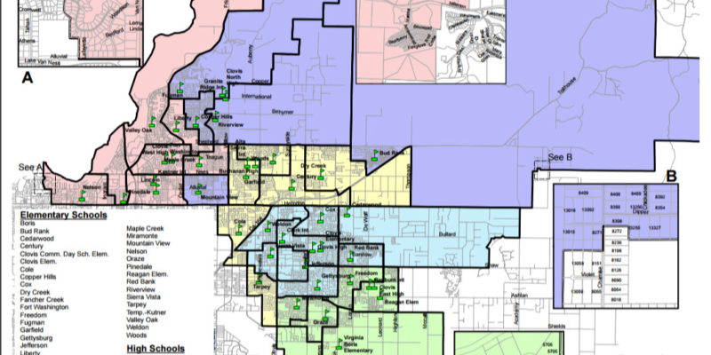 Neighborhoods in Clovis Unified School District