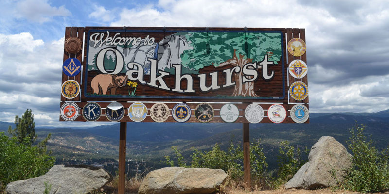 Living in the Town Center of Oakhurst