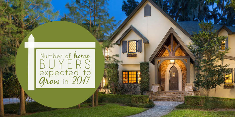 Number of Home Buyers Expected to Grow in 2017