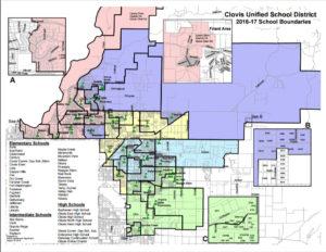 Neighborhoods in Clovis Unified School District
