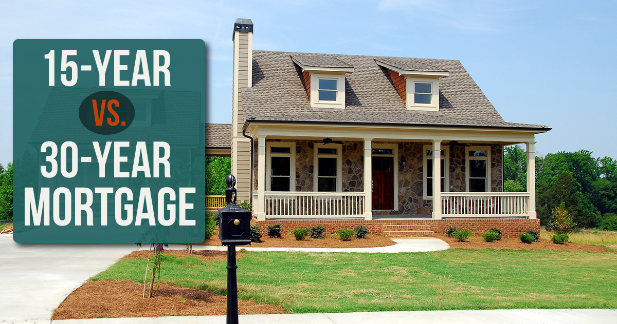 15-year vs. 30-year mortgage