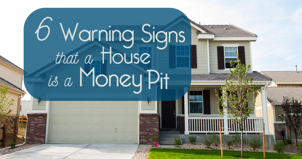 6 warning signs that a house is a money pit